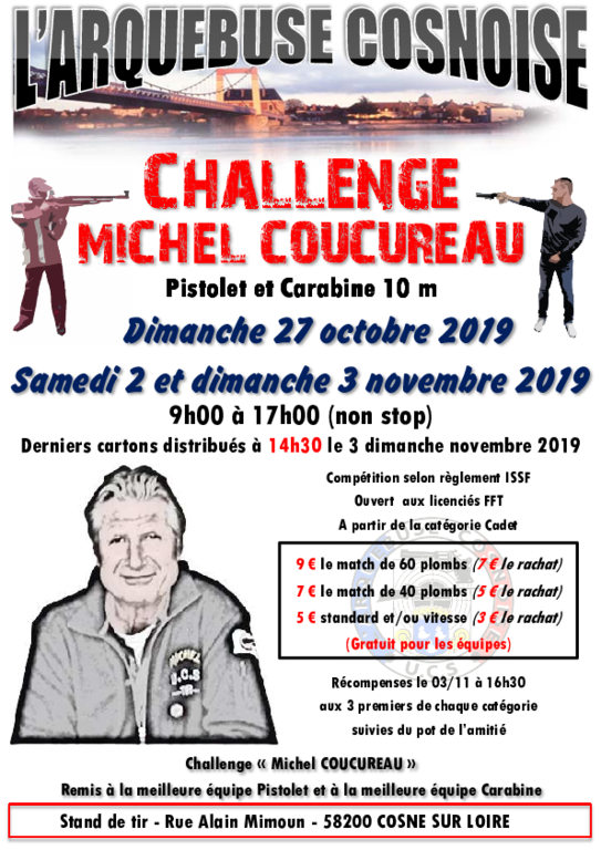 Challenge Michel COUCUREAU